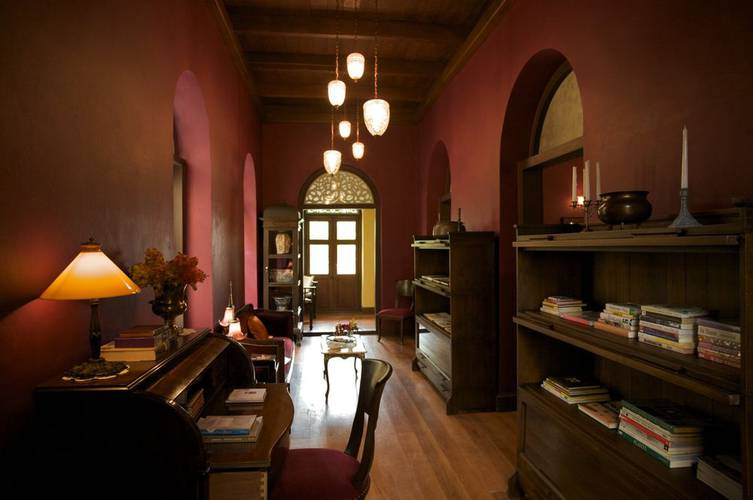 Library Praya Palazzo Hotel Bangkok