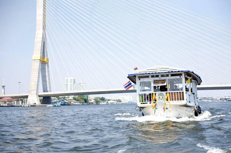Boat Praya Palazzo Hotel Bangkok