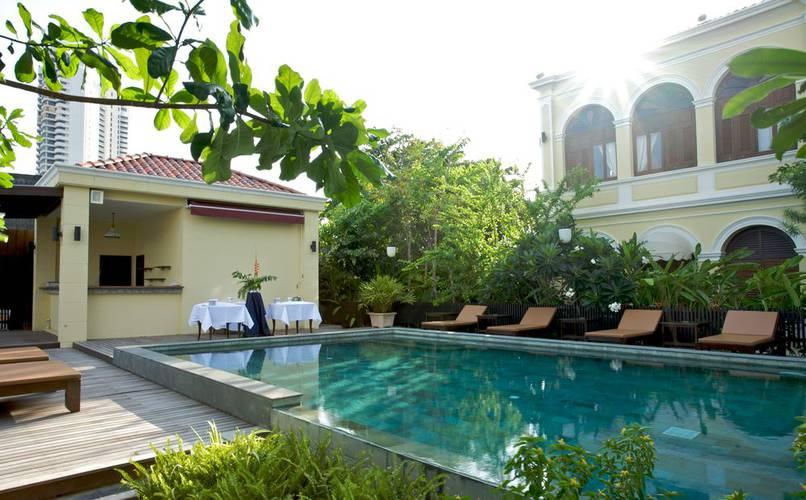 Pool praya palazzo hotel bangkok